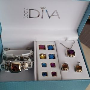 LADY DIVA  COMPLETE JEWELRY ♥ ❤ 💖